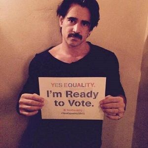 PinkNews: Nov. 11, 2014 - Irish actor Colin Farrell throws his support behind gay marriage referendum in homeland