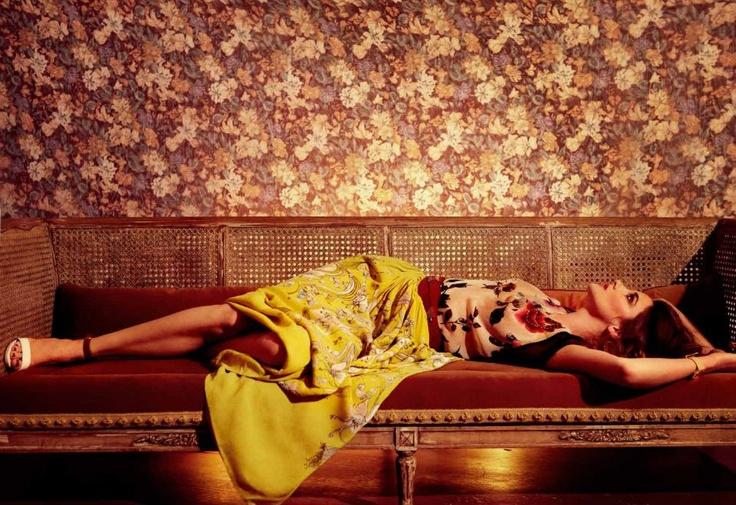 Hollywood actress Drew Berrymore in Rützou skirt | Vs. Magazine 2012