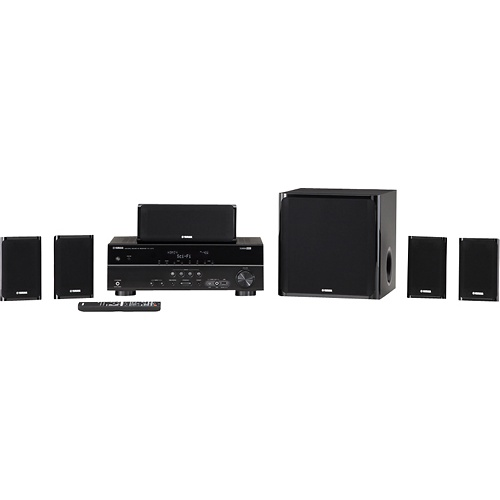 Yamaha - 5.1-Ch. Home Theater System with Subwoofer $399.99