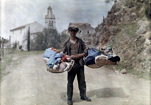 Amazing colorized photos from Greece in the 1920s