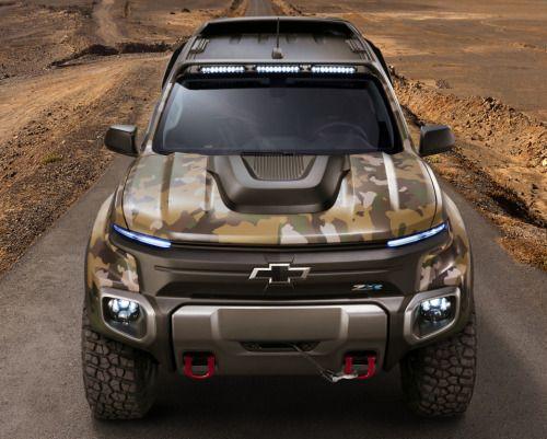 fullthrottleauto:    Chevrolet Colorado ZH2 Fuel Cell Vehicle...