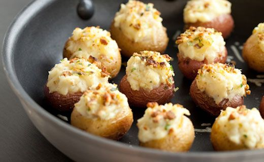 Epicure Twice-baked Baby Potatoes