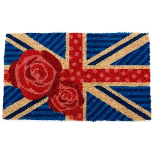 British Rose Handwoven 18x30, $25, now featured on Fab.