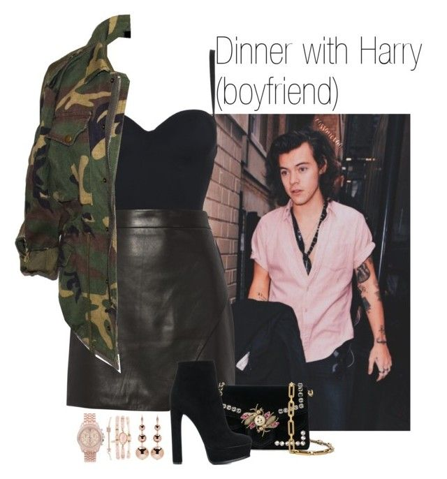 Dinner With Harry Boyfriend By Imagine Harry Liked On Polyvore Featuring Wolford Michelle Mason Proenza Schouler C Clothes Design Fashion Cute Outfits