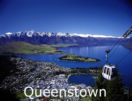 1200ft above Queenstown is Bob's Peak and Skyline restaurant...you travel by gondola to get there.  Check out the webcams at www.skyline.co.nz   for amazing panaramic views of Queenstown.