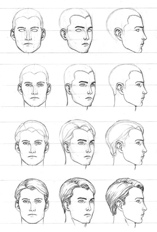 How to draw a face 25 step by step drawings and video tutorials 17 drawing face