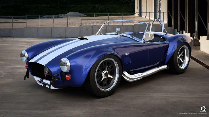 427 Cobra, looks like mine with black wheels, glad I went with aluminum!