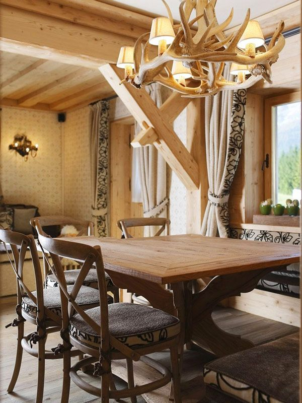 rustic italian apartment fully furnished with wood is