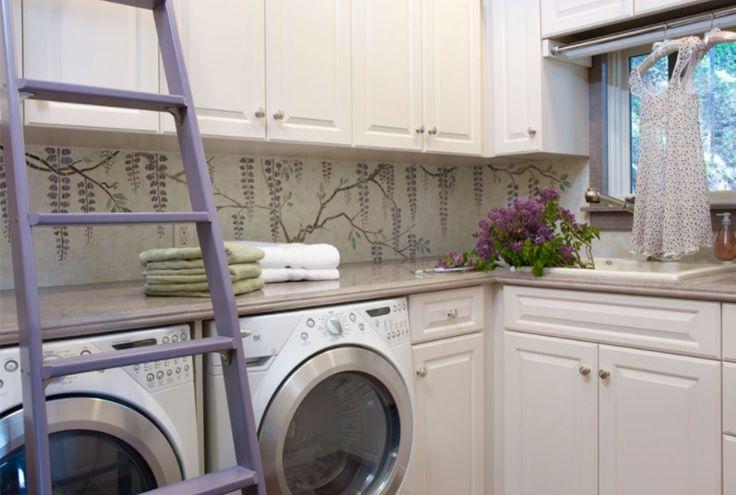 California-Mediterranean-Estate-Laundry-Room-by-Sarah-Barnard-Design Laundry Room Decor Ideas