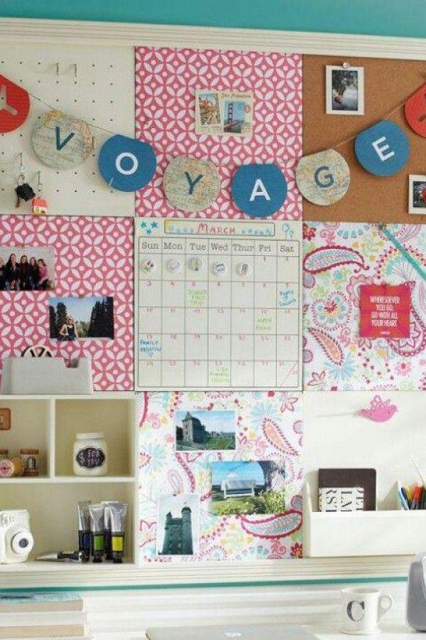 Cute Bulletin Board Ideas For Bedroom In 2020 Cork Board Ideas