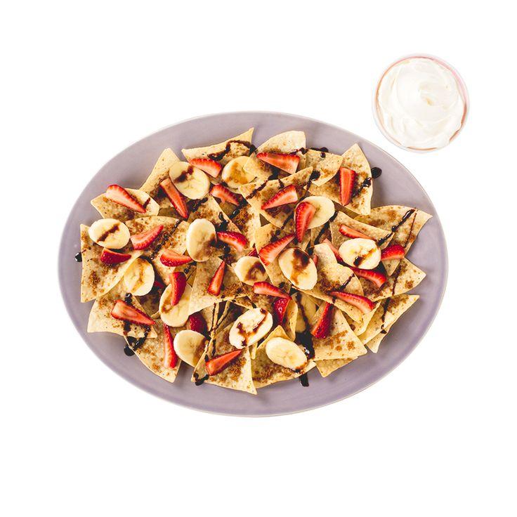 Nachos-dessert - Créez la plus savoureuse recette de Nachos-dessert. Tostitos® possède avec des directives étape par étape. Concoctez la meilleure/le meilleur pour n'importe quelle occasion.