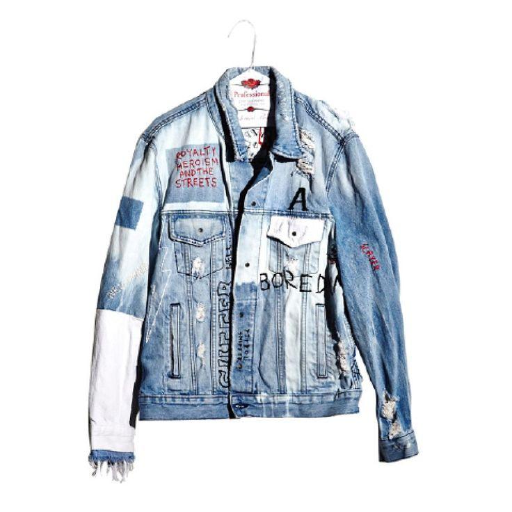 Ksubi unisex jacket in Wasted Roadie, $1,800 For information: ksubi.com