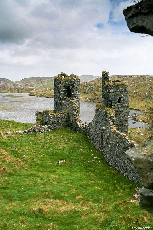 Dunlough Castle, Mizen Head,West Cork