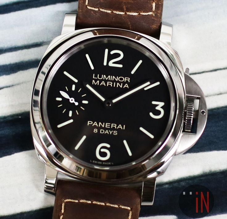 """""""Another Happy Customer!""""#Panerai 44mm Luminor Marina 8 Days R Series, 2015Ref#: PAM 510 * EMAIL or CALL for INQUIRIES!!http://www.elementintime.com/search.aspx?q=panerai"""