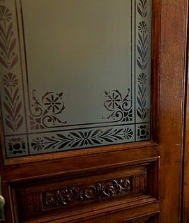etches glass patterns panels - Google Search