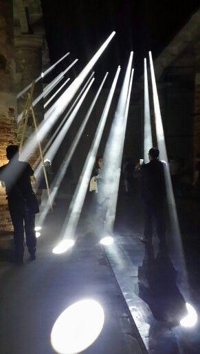 Light installation at the 2016 Venice Biennale