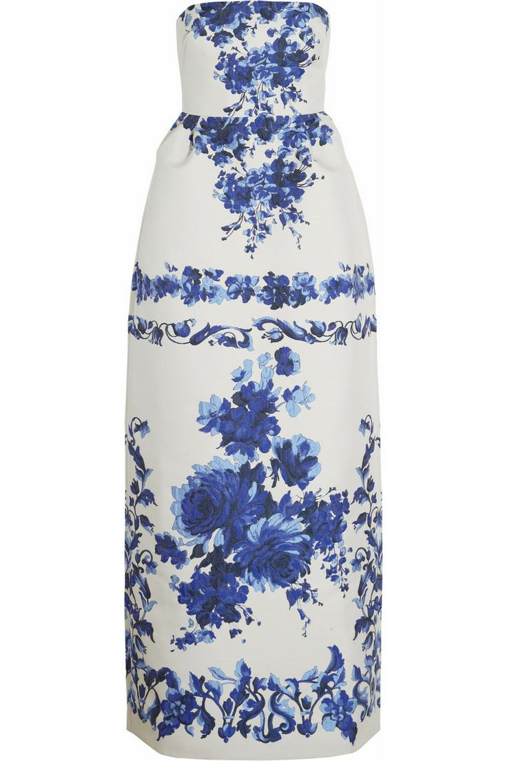 63 Best Style Images On Pinterest Necklaces Diy Kid Jewelry And Stick Shift Diagram Get Domain Pictures Getdomainvidscom Valentino Blue White Floral Brocade Gown