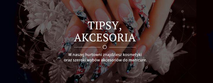 Oferujemy szeroki wybór akcesoriów do wykonywania zdobień i stylizacji paznokci