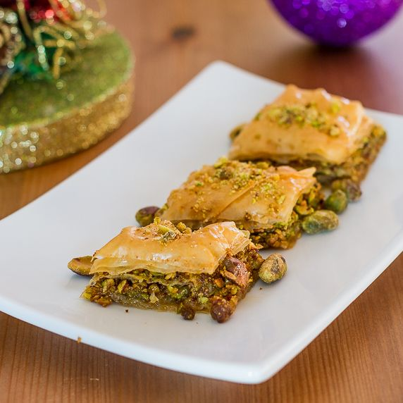 Pistachio Baklava - a decadent pastry filled with pistachios and ...