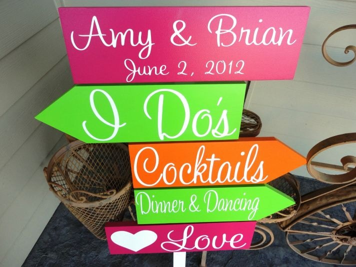 Neon wedding sign- something to have at the reception?! :-)