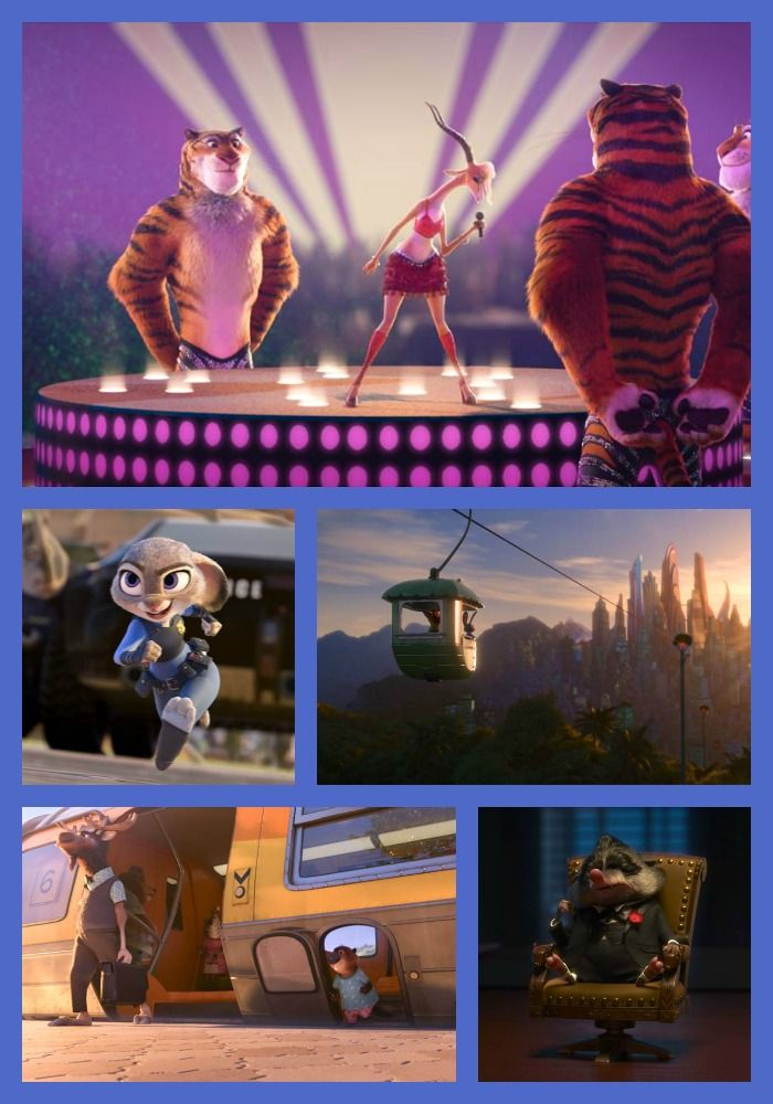 ZOOTOPIA - The tiger back up dancers were my favorite!