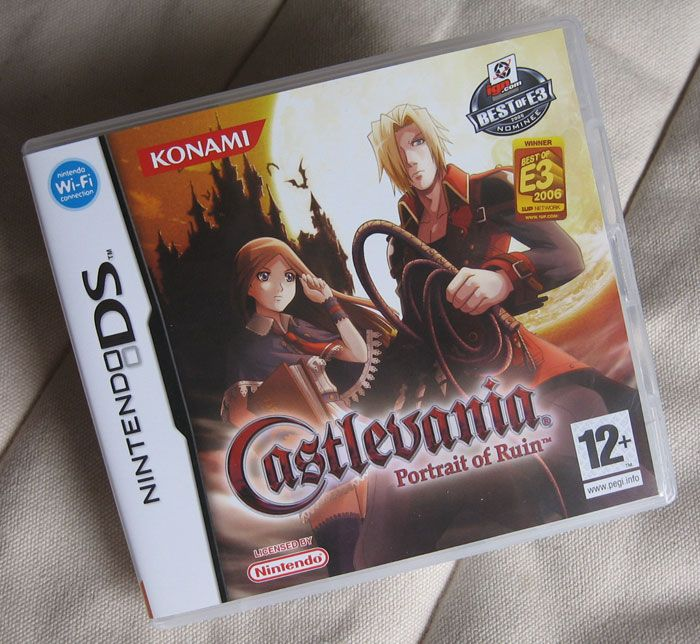 castlevania portrait of ruin ds | Test de Castlevania Portrait Of Ruin sur Nintendo DS
