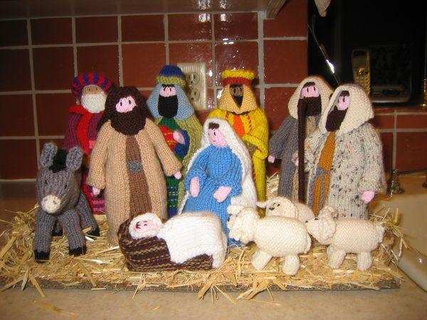 Amigurumi Nativity Free Download : Crochet nativity set from annie s attic the birth of christ g
