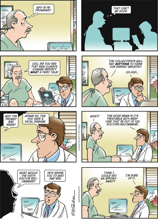 comic strip by garry trudeau Sanctuary arena