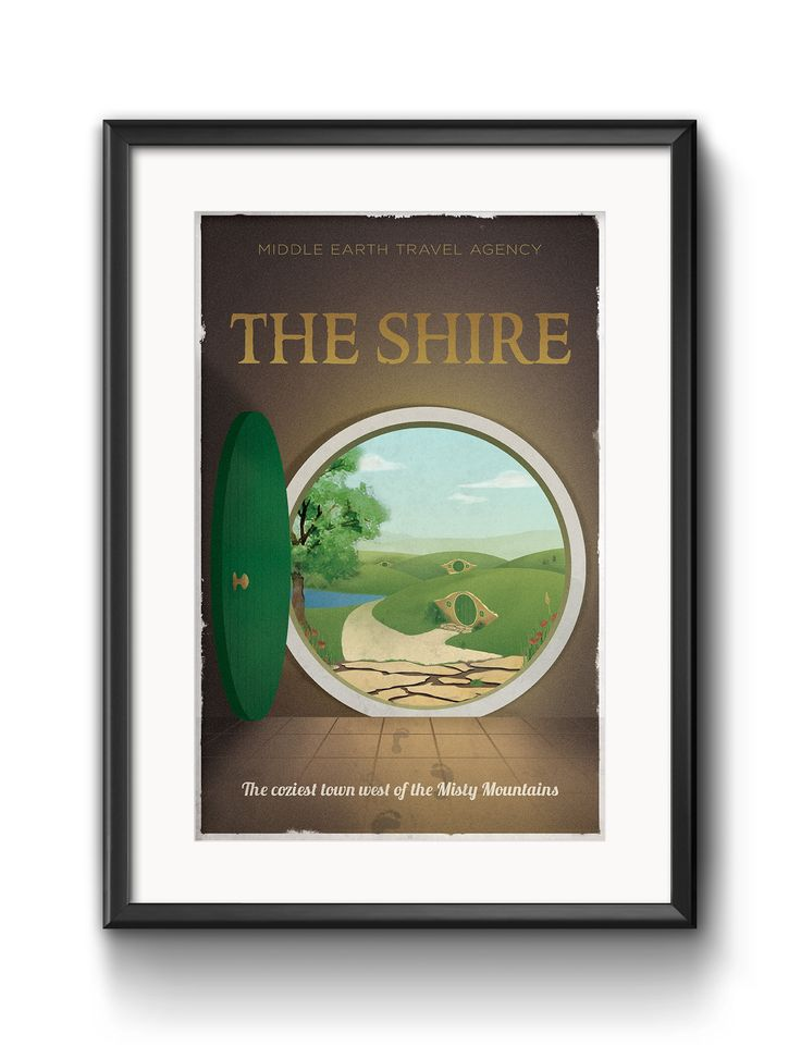 The Shire from The hobbit