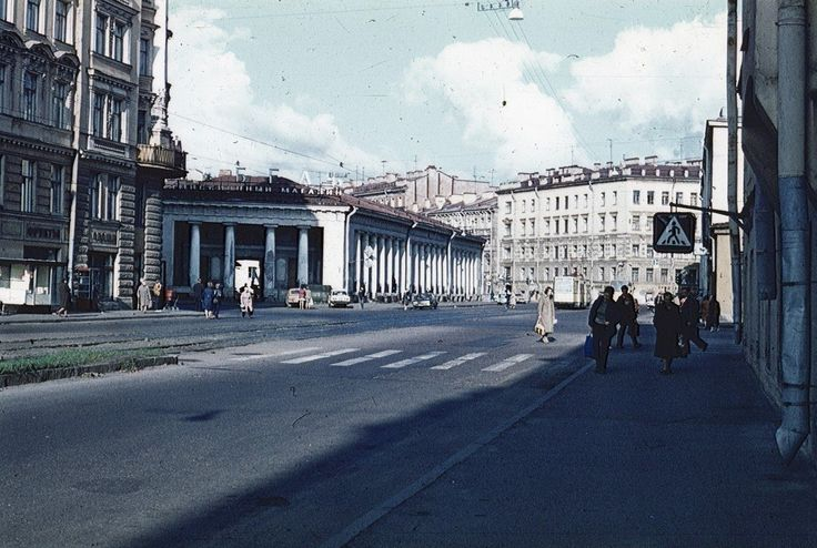 Улица Марата.  1980—1986 гг.