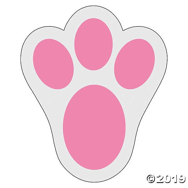 Bunny Print Floor Decals Oriental Trading Easter Bunny Crafts Easter Crafts Bunny Paws