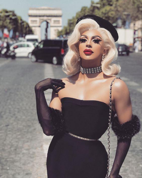 #dragqueenwigs #wigs #silvergrey