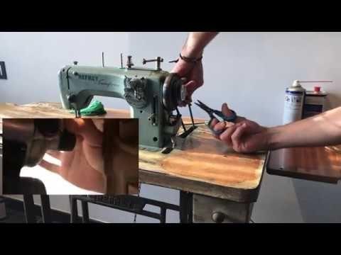 Máquinas De Coser Antiguas Refrey Cambiar La Correa Youtube Maquina De Coser Máquinas De Coser Antiguas Cosas