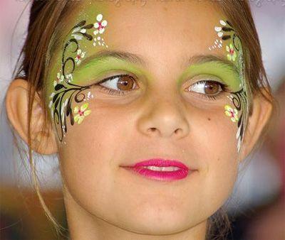 Trucco del viso per Carnevale per bambini da Fata n.8