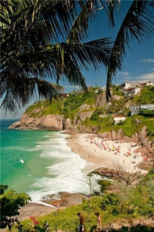 Praia da Joatinga Rio de Janeiro Brasil..... Here you relax with these backyard landscaping ideas and landscape design. #Relax more with this #free #music with #BinauralBeats that can #heal you: #landscaping #LandscapingIdeas #landscapeDesign