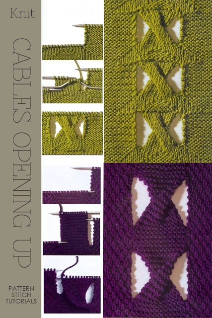 1000+ images about Knit - techniques & pattern on Pinterest Knitting St...