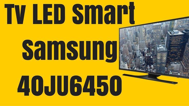 Televizor LED Smart Samsung 102 cm 40JU6450 UHD - Samsung 40JU6450