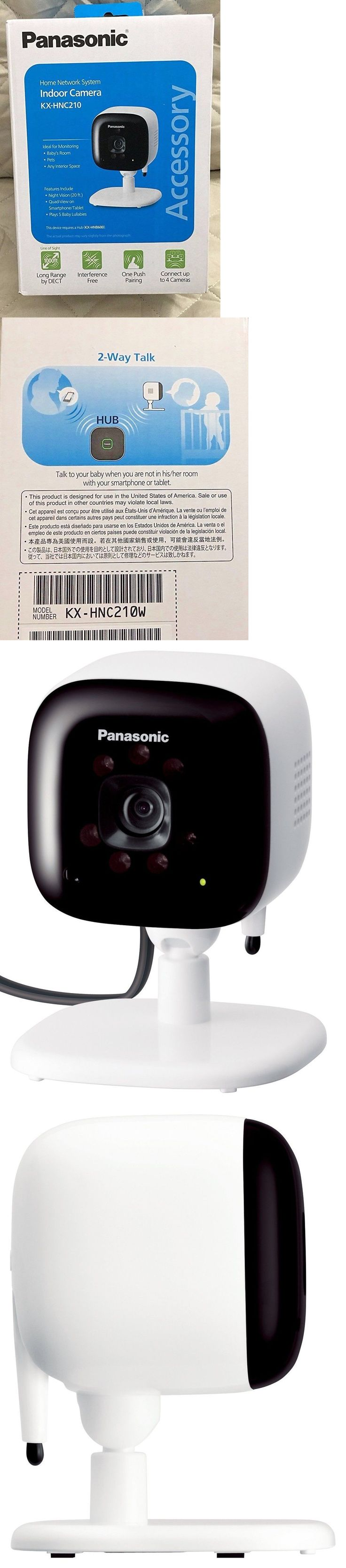 Security Systems 41969: Panasonic Indoor Camera For Home Monitoring System Hnc210w Sealed New -> BUY IT NOW ONLY: $50 on eBay!