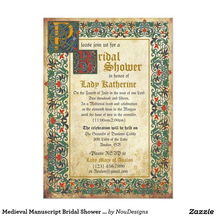 28 best medieval wedding invitations images on pinterest, Wedding invitations