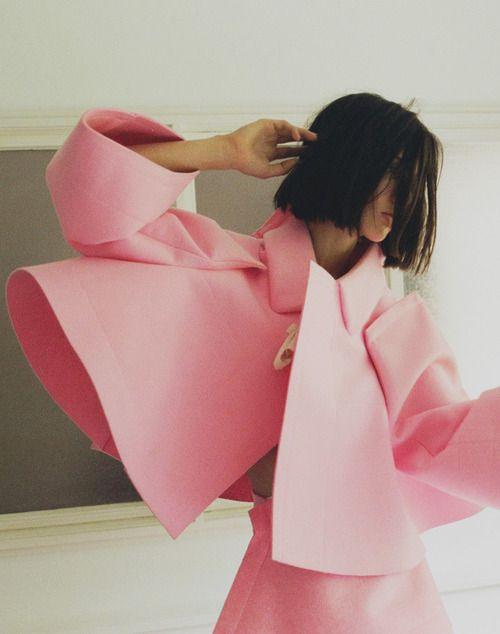 Ruby Aldridge by Lina Scheynius for Turkish Vogue, November 2012