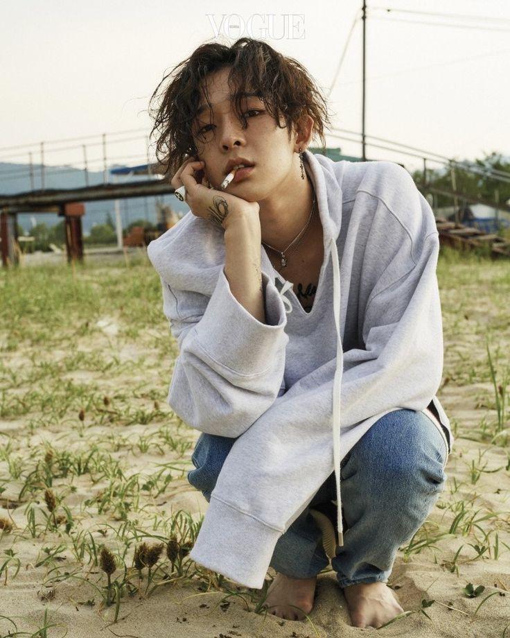 Nam Taehyun for Vogue Korea (July 2017)     #namtaehyun #taehyun #southclub #korean #singer #model #male  #vogue #magazine #cigarette #2017