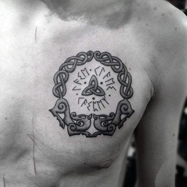 33 Best Small Viking Symbol Tattoos Images On Pinterest