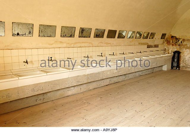 Gestapo prison Small Fortress Theresienstadt, Terezin, north Bohemia, Czech Republic - Stock Image