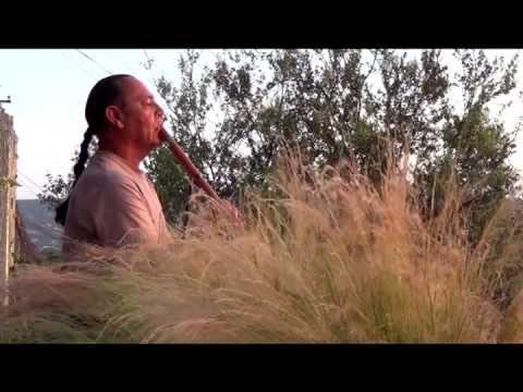 Sunset Meditation Song,  played on the Anasazi flute.