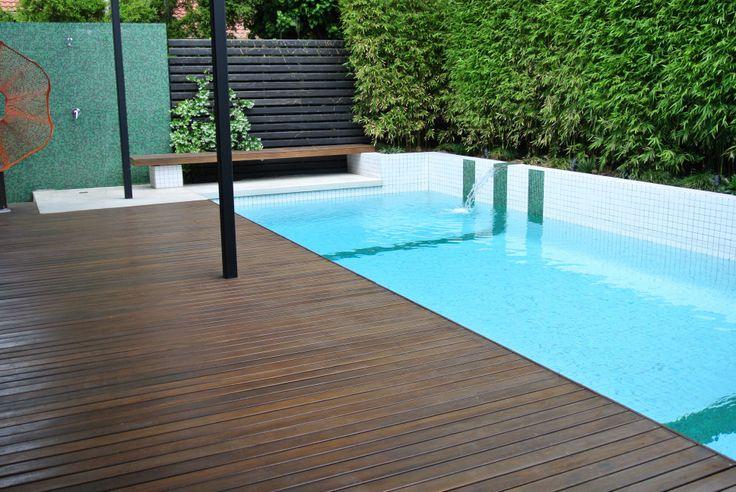 White Pool Tiles Garden Ideas Pinterest Pool Tiles