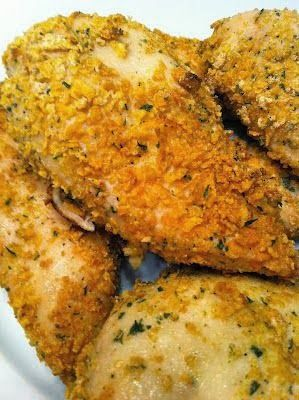 Ranch Chicken - it's easy and absolutely delicious! One 4 ounce chicken breast is only 5 points.,