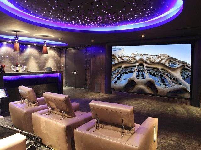 Construindo Minha Casa Clean: Cinema em Casa! Home Theater como Você Nunca Viu!!!