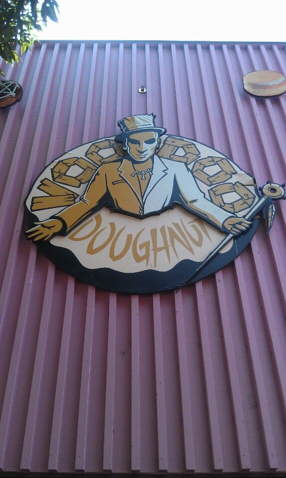 You have to go here! Yummy doughnuts and just very cool!  This is so Oregon!!