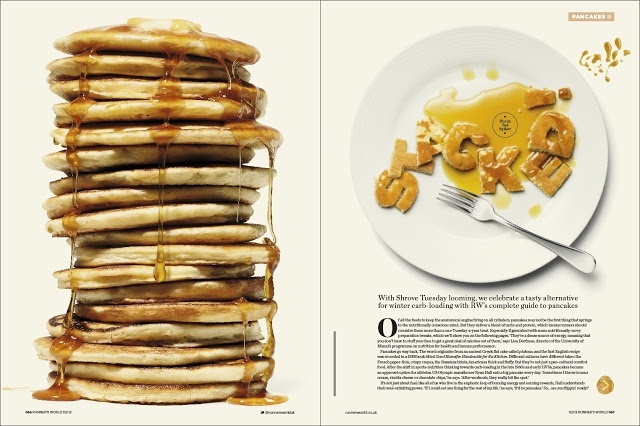 MagSpreads - Editorial Design and Magazine Layout Inspiration: Runners World Magazine Redesign