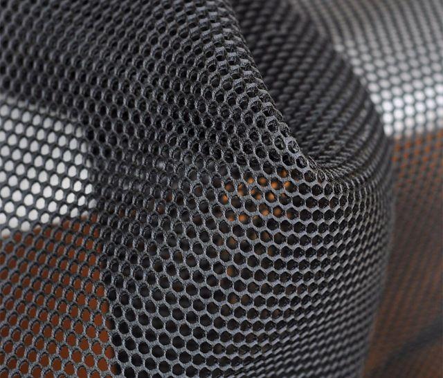 50 СМ * 150 СМ Сэндвич модельер ткань-круглый толщиной скучно сетка черная Сетка ткань Мода